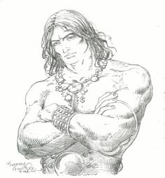 1977 - Conan the Barbarian by Barry Smith