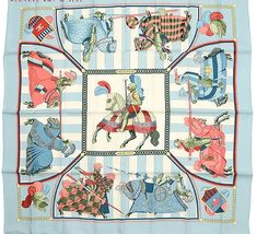 Hermes Scarf Shawl 100% Silk Carre 90 CHOCS EN PLUMES AUTHENTIC #Hermes #Scarf