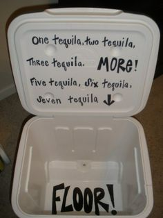 i know what I'm doing with my cooler this summer