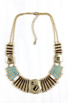 AMY O Jewelry necklace  nice Egyptian twist!