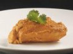 Receta de Pechugas de Pollo en Salsa de Cacahuate
