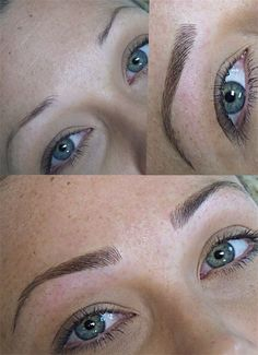 Tattoo Eyebrows: Everything You - Microblading Mircoblading Eyebrows, Permanent Makeup Eyebrows, Threading Eyebrows, Eyebrow Makeup, Hair Makeup, Eye Brows, Eyeliner, Arched Eyebrows, Makeup Eyes
