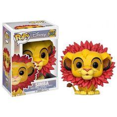 Funko Simba Leaf Mane, Lion King, Rei Leão, Disney, Funkomania