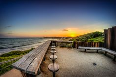 Torquay Beach Kiosk Sunset by Russell Charters on 500px