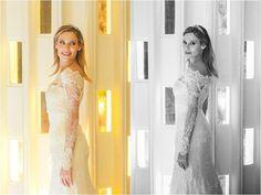Decoração colorida - Look da noiva - Foto Casa Arty