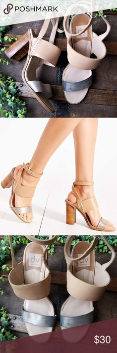 834f0db3a72 Shop Women s Dolce Vita Tan Silver size 10 Heels at a discounted price at  Poshmark.
