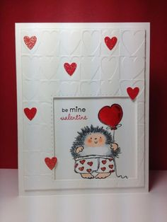 Hot Pants: Penny Black, embossing, v-day, by beesmom - Cards and Paper Crafts at Splitcoaststampers