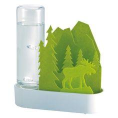 積水樹脂 自然気化式ECO加湿器うるおいちいさな森 エルク‐グリーン ULT-EL-GR:Amazon.co.jp:家電/生活雑貨