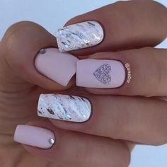 18 Trending Summer Nail Designs 2018 latest nail art designs gallery 2018 nail polish colors pastels and bright florals nail polish 2018 nail shapes spring 2018 nail polish colors 2018 nail colors 2018 nail color trends nail Cute Acrylic Nails, Acrylic Nail Designs, Matte Nails, Nail Art Designs, Gel Nails, Manicures, Polish Nails, Nail Nail, Nail Designs Spring