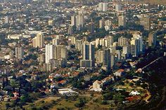 Mozambique Maputo seen from southeast