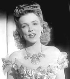 Helen O'Connell sang with the Jimmy Dorsey Band