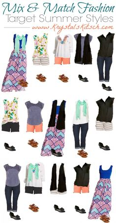 Check out these ideas for summer! Upgrade your wardrobe with Target summer fashion!