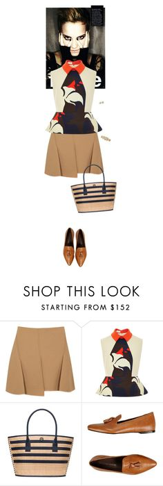 """Untitled #2176"" by wizmurphy ❤ liked on Polyvore featuring Alexander Wang, Delpozo, Tory Burch, Leonardo Principi, J.Crew and ToryBurch"