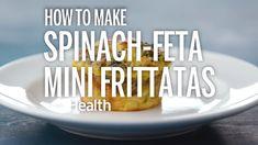 How to Make Spinach-Feta Mini Frittatas