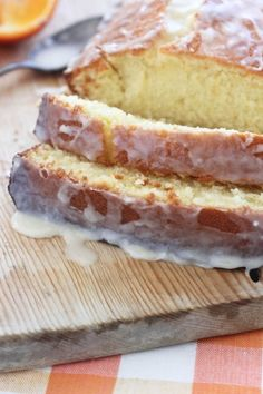 Glazed Vanilla Bean Tangelo Quick Bread recipe.  Melts in your mouth.  Pin to Dessert and bread boards!