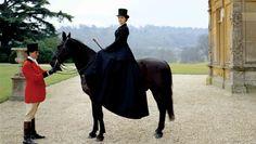 Amazone équitation Downton Abbey