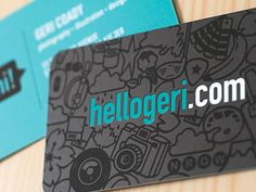 Dribbble - Business Cards by Geri Coady