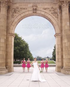 Nationwide Train Arch Scioto Mile, Columbus, OH Wedding