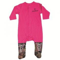 Browning Infant Union Suit - Fuchsia - Mills Fleet Farm