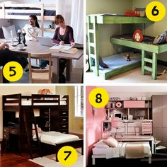 Small and low cost - Cómo organizar un dormitorio pequeño | Decorar tu casa es facilisimo.com