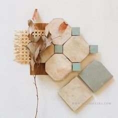 A Tilesofezra flat-lay – TILES OF EZRA Flat Lay Inspiration, Moraira, Moroccan Tiles, The Design Files, Laundry In Bathroom, Painting Patterns, Home Decor Accessories, Mosaic Tiles, Retro