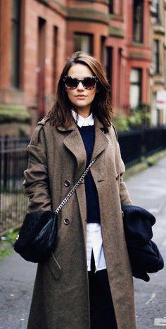 #street #style / brown coat