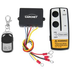 Amazon.com: 12V 12 Volt Wireless Remote Control Kit for Truck Jeep ATV Winch: Automotive