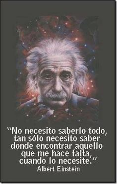 imagenes con frases de optimismo - albert einstein