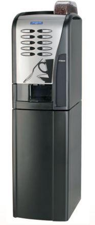 Rubino 200 - •Dispensador automático de vasos, paletinas y  azúcar. •Grupo exclusivo Saeco, para una máxima  calidad del café, con un mantenimiento  sencillo, de larga duración y fiabilidad. •Acepta distintos y variados sistemas de pago:  paralelo, MDB, BDV, Ejecutivo, tarjeteros,  llaves, etc... •Programación de bebidas personalizable