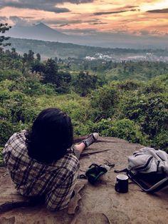 Coffe Bag Nature HDR Bogor Indonesia Sunset