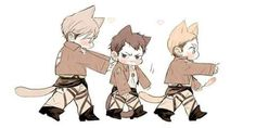 Mike zacharais,Nile dawk,Erwin smith neko :3