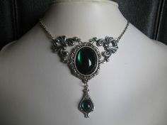 Set NECKLACE/EARRINGS by LapieuvreArtBijoux on Etsy, $30.00