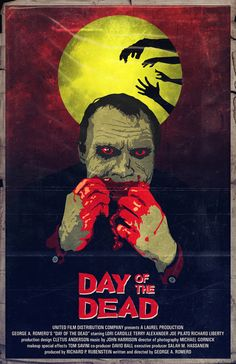 day of the dead, 1985, poster, jason nichols