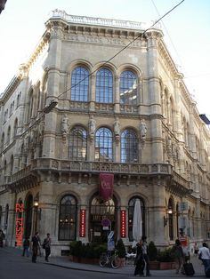 Cafe Central, Viena, Austria.