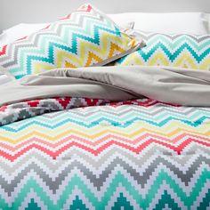 Xhilaration® Printed Chevron Comforter Set