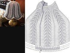 Crochet Diagram, Crochet Chart, Thread Crochet, Crochet Motif, Crochet Doilies, Crochet Toys, Crochet Stitches, Knit Crochet, Crochet Patterns