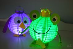 Lampinion Lantern Frog and Owl Christmas 2019, Diy For Kids, Decor Styles, Origami, Flamingo, Diy Crafts, Party, Angel Hair, Jungles