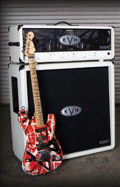 The Eddie Van Halen (EVH) 5150 III Half stack Tube Amp