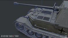 ArtStation - Panzerjäger Tiger(P) « Ferdinand », Maxim Volkov