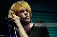 Julian Cope, singer-songwriter with British band The Teardrop Explodes performs on a Granada television show filmed in Manchester, England on June Get premium, high resolution news photos at Getty Images Julian Cope, Music Industry, Rolling Stones, Music Artists, Pop Culture, Tv Shows, British, Singer, Image