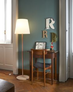 Ali Baba Wood floor lamp, design Slide Studio. #design
