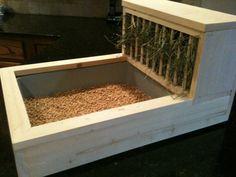Perfect Rabbit Litter Box / Hay Feeder