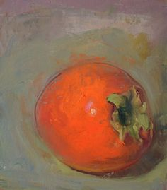 """Hyacinth Persimmon, 11/24/2015"" by Duane Keiser"