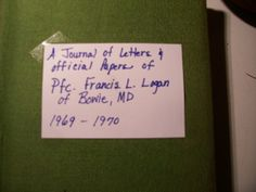 Vietnam soldier's letters from son to mother and by rustyitems, $40.00