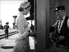 Grace Kelly western movies | Grace Kelly (Amy Kane) + Ted Stanhope (Station Master)