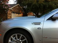Cadillac STS-V - Supercharged DOHC VVT V8, Brembo Brakes, sport suspension, full size, full luxury.