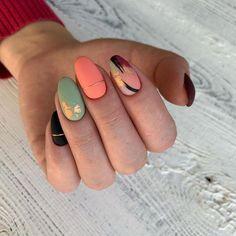 fall nail art designs you'll love 1 Nail Drawing, Funky Nails, Funky Nail Art, Oval Nails, Minimalist Nails, Dream Nails, Cute Acrylic Nails, Stylish Nails, Perfect Nails