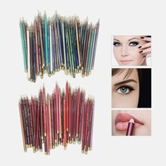 40pc Eye Pencil & Lip Set : $9.99 + Free S/H http://www.mybargainbuddy.com/40pc-eye-pencil-lip-set-9-99