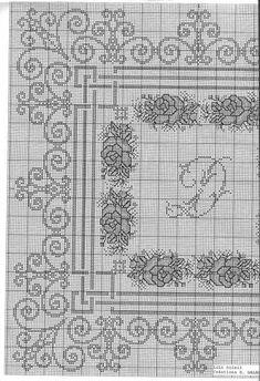 Cross Stitch Embroidery, Hand Embroidery, Cross Stitch Patterns, Wedding Cross Stitch, Minecraft Creations, L Love You, Bargello, Cross Stitch Flowers, Hgtv