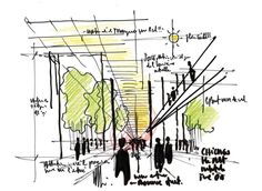Renzo Piano Sketch